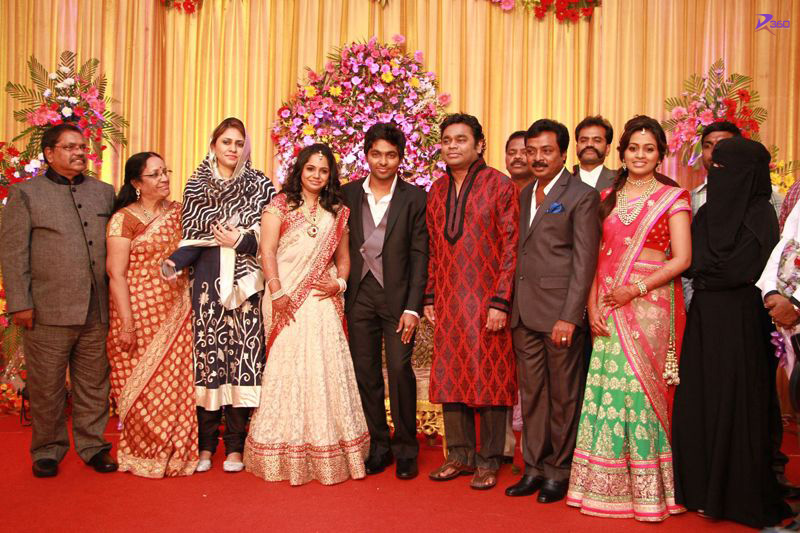 A.R. Rahman Sir At G V Prakash & Saindhavi Wedding Reception