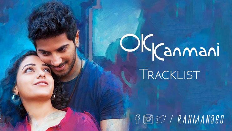 OKKanmani_Tracklist